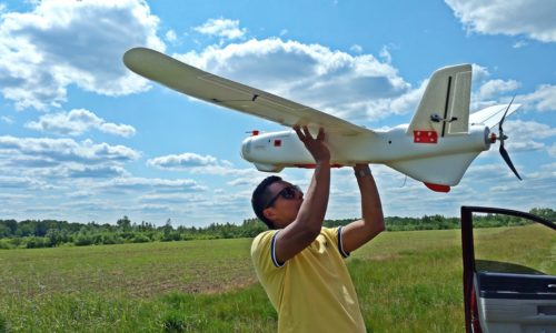 AMTalon Lite fixed wing commercial drone low size
