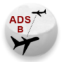 ADS-B Button 2 with text